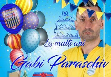 """Colaj surpriză pentru Gabi Paraschiv cu ocazia zilei de naștere. Vezi cine i-a urat: """"LA MULȚI ANI!"""""""