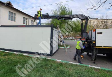 ȘTIREA DE BINE: Geo-Sting a donat Spitalului Județean de Urgență Târgoviște un container sanitar