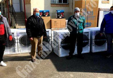 ȘTIREA DE BINE: Electrocasnice donate de Arctic tuturor spitalelor din județ