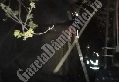 TĂTĂRANI: O tânără de 19 ani și-a incendiat locuința