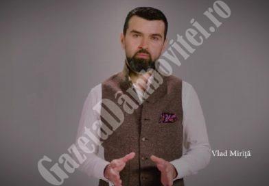"""Tenorul Vlad Miriță, ales să transmită românilor informații despre coronavirus în campania """"Sunt doar un om"""""""