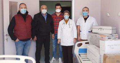 """ȘTIREA DE BINE! Asociația """"Flacăra Suporterilor Morenari"""" – donație către Spitalul Municipal Moreni!"""