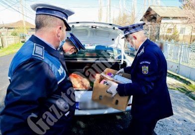 Acțiune umanitară a polițiștilor dâmbovițeni, pentru o familie cu probleme