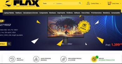 Comandă onlinepe Flax.ro, echipamente IT și consumabile! Flax Computers – partenerul tău local