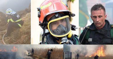 Credeți ca lupta cu focul e ușoară?! Dacă nu încetăm cu arderea vegetației uscate, la un moment dat nu va mai avea cine să vină la intervenții