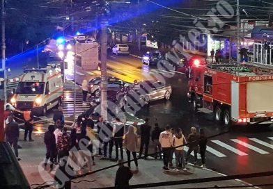 TÂRGOVIȘTE: Accident în centrul municipiului