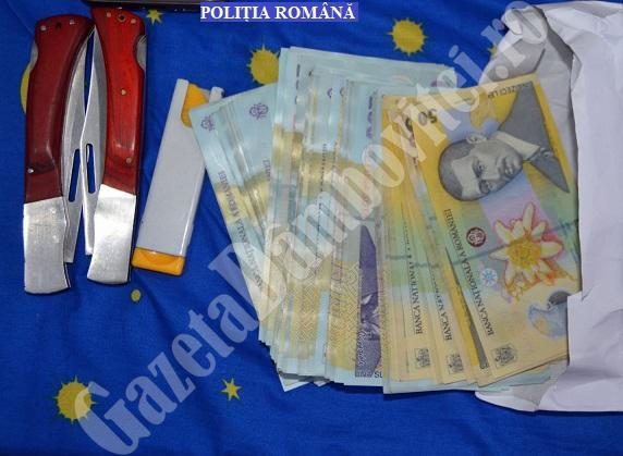 DÂMBOVIȚA: Percheziții la persoane bănuite de comiterea infracțiunilor de camătă și șantaj (VIDEO)