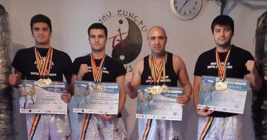 Numărul 13 e cu noroc pentru familia Marin! Experiențe inedite în Freestyle Kickboxing online!