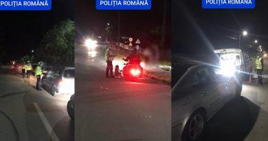 VIDEO: Rezultatul raziei de noaptea trecută, de pe Aleea Mănăstirii