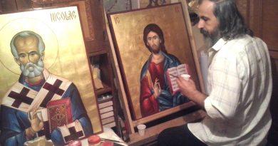 """Pictorul VASILE NEGUŞ – artistul şi teologul ce """"transcrie"""" prin culoare, Evanghelia! – INTERVIU partea I"""