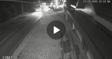 VIDEO: Cum s-a produs accidentul mortal de la Găești. Șoferul a depășit o coloană de TIR-uri