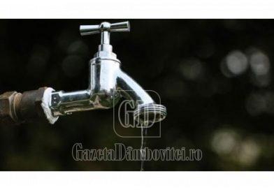 Apel la consum rațional de apă potabilă! Debitele scad constant în județ