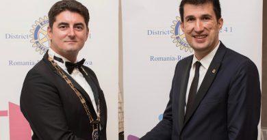 Ciprian Iacob, ales președinte atât al Clubului Rotary Târgoviște și al Asociației Club Rotary Târgoviște