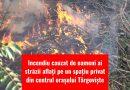 VIDEO: Incendiu cauzat de oameni ai străzii aflați pe un spațiu privat