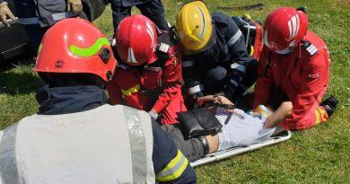 Accident rutier în I. L. Caragiale. Un bărbat a fost rănit!
