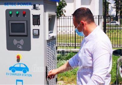 TÂRGOVIȘTE: Până la finalul lunii intră în funcțiune stațiile de încărcare a mașinilor electrice