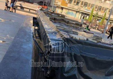 Constructorul trebuie să refacă hidroizolația fântânilor din Piața Tricolorului