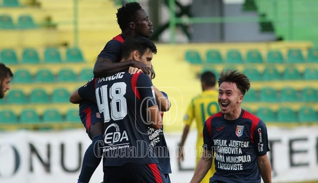 S-a terminat meciul de la Mioveni! Chindia a rămas în Liga 1! Felicitări, băieți!