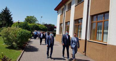 Vlad Oprea și-a depus candidatura la Titu, însoțit de liderii organizației PSD Dâmbovița