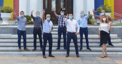 Turcescu, alături de echipa PMP Târgoviște la depunerea dosarelor de candidatură