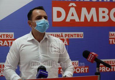 Cristian Stan nu crede că PNL va salva COS Târgovişte: Se preiau active, nu unitatea ca atare