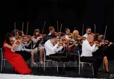 """TÂRGOVIȘTE: Un nou concert al Orchestrei Simfonice de Tineret """"Andante"""" va fi sustinut la Teatru de vara """"Tony Bulandra"""", astăzi la ora 19"""