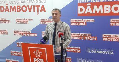 PSD Dâmbovița așteaptă o reacție din partea PNL Dâmbovița… pe rectificarea de ,,zero lei'' de la Guvernul Orban pentru Primăria Târgoviște