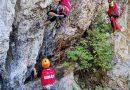 Zile pline de activitate pentru evaluarea finală a viitorilor salvatori montani