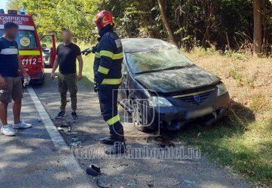 Priseaca: Un bărbat rănit din cauza unui șofer care nu s-a asigurat
