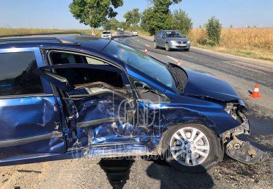 Bâldana: Accident soldat cu rănirea a două persoane