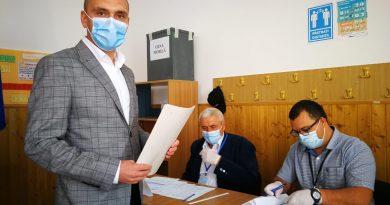 Candidatul PNL, Tiberiu Lixandru, a votat pentru o  Aninoasa europeană