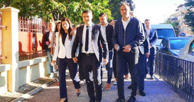 Cosmin Bozieru a votat la Colegiul Național ,,Constantin Cantacuzino''