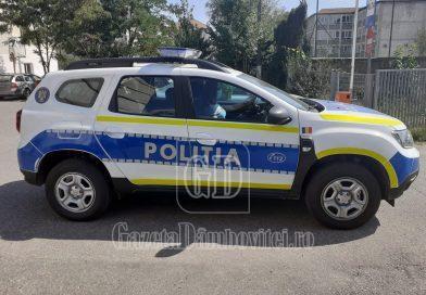 TÂRGOVIȘTE: Polițiștii, chemați la supermarket pentru doi clienți care au refuzat să poarte mască