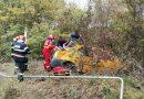 VIDEO: Accident în comuna Gura Foii soldat cu două victime transportate la spital