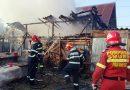 O gospodărie din Mănești a luat foc din cauza unui conductor electric neizolat corespunzător