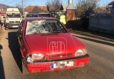 Pieton mort într-un accident la Cândești