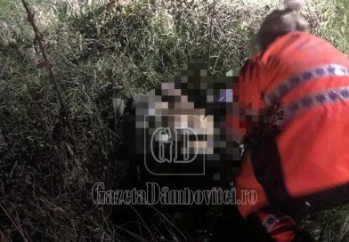 Bărbat, omorât pe DN72! Nu se știe, încă, cine este