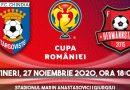 Chindia – Hermannstadt, meciul din Cupa României începe în scurt timp. Succes, băieți!