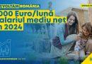 """PNL Dâmbovița: """"Salariul mediu net al angajaților din România va crește până la 1000 Euro pe lună în 2024"""""""