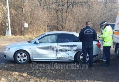 DN 72A: Femeie rănită, după ce un șofer a pierdut controlul volanului
