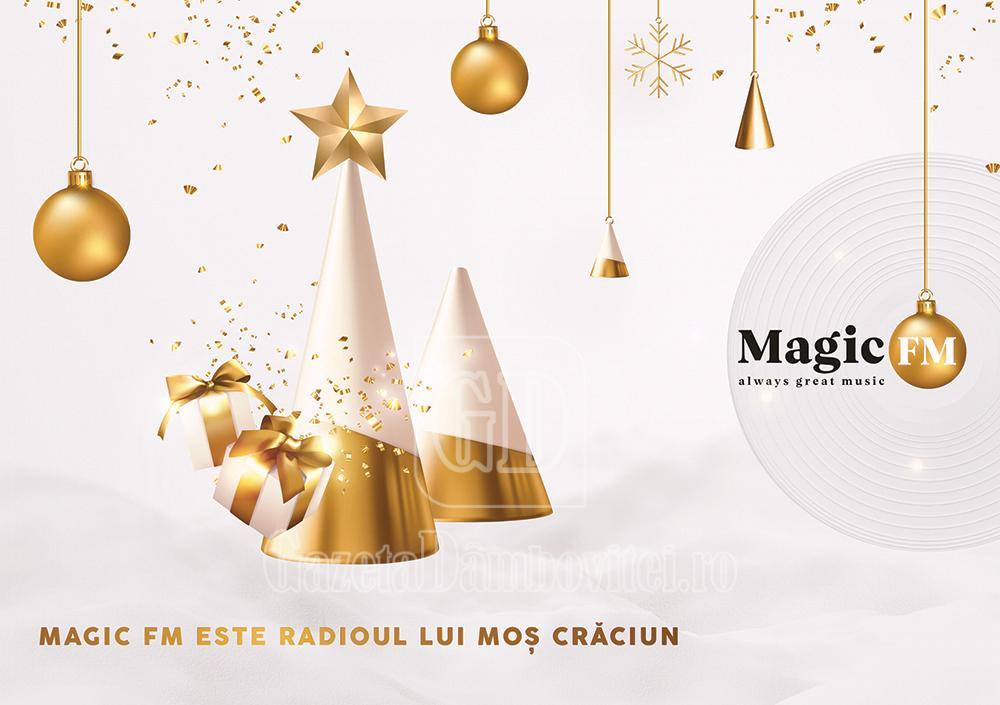 Magic FM este, și anul acesta, Radioul lui Moș Crăciun
