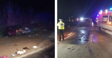 Accident grav la Pitaru. Un minor printre persoanele rănite. Traficul a fost întrerupt