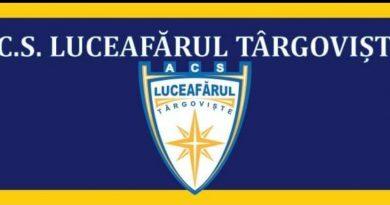 FOTBAL: Selecție la ACS Luceafărul Târgoviște! Vezi detaliile.