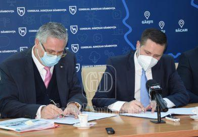 CJD va reabilita, cu fonduri europene, Școala Specială Târgoviște. Astăzi a fost semnat contractul de finanțare