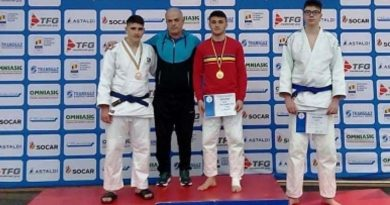 JUDO: Viitoarea speranță a CS Târgoviște, Gabriel Pleșa, a devenit campion național la U18