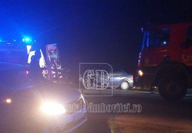 Accident pe DN 7. Un bărbat a fost rănit