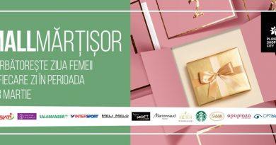 MallMărțișor: Între 1 și 8 martie, Ploiești Shopping City sărbătorește Luna Femeii cu premii surpriză instant