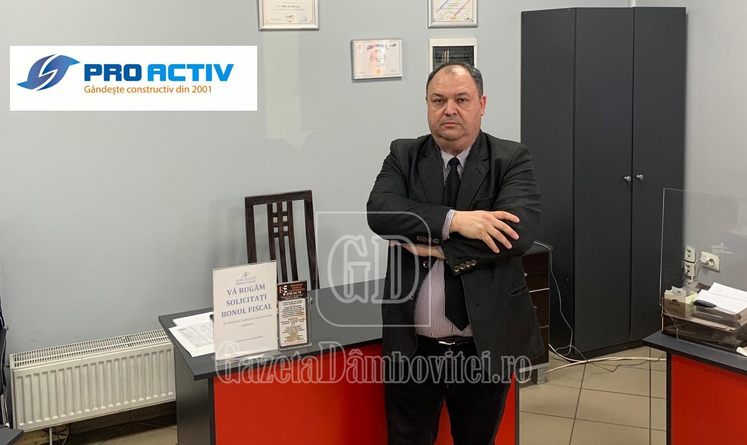 Pro Activ și-a mărit echipa de profesioniști prin recrutarea lui Teodor Ionescu (Strategic Partner B2B)