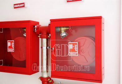TÂRGOVIȘTE: Autorizații de securitate la incendiu pentru toate unitățile de învățământ