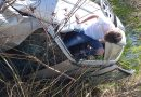 Conțești: Un șofer de 20 de ani a ajuns, de la 182 Km/h, direct pe marginea drumului